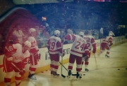 Warm Up der Detroit Red Wings